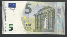 """Greece New Printer Y005C4 !! """"Y"""" 5 EURO GEM UNC! Draghi Signature! - EURO"""