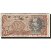 Billet, Chile, 10 Escudos, 1967, KM:143, TB - Chili
