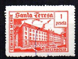 Viñeta De Santa Teresa 1 Peseta. - España