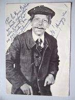 PERE JOHANNET / PORTRAIT DEDICACE  / PERSONNAGE EPIQUE DU MASSIF CENTRAL - Autographes