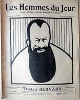 CARICATURES PORTRAITS POLITIQUE LITTERATURE SPECTACLE TRISTAN BERNARD  1911 - Journaux - Quotidiens