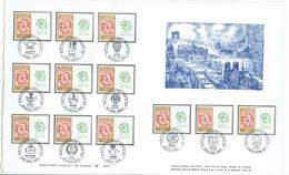 FRANCE - 2c Type BLANC  Sur 25c - Document Du RALLYE PHILATEC 11 Au 14 Juin 1964 - RARE - - Autres
