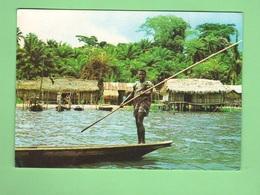 Afrika Africa Lagos Cp 1985 Panorami Panoramas Mare Sea Mer Travel Voyage - Nigeria