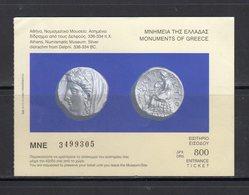 Monumenti Greci - - Biglietti D'ingresso