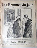 CARICATURES PORTRAITS POLITIQUE LITTERATURE SPECTACLE SACHA GUITRY THEATRE 1912 - Altri