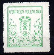Viñeta De Aportacion Voluntaria  Futbol Guadix. - España