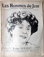 TOULOUSE LAUTREC CARICATURES PORTRAITS POLITIQUE LITTERATURE SPECTACLE YVETTE GUILBERT 1913 - Journaux - Quotidiens