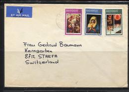 Bahamas,  1973,  Brief Nach Stäfa  Schweiz,  /  Christmas - Bahamas (1973-...)