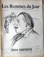 CARICATURES PORTRAITS POLITIQUE LITTERATURE SPECTACLE GUSTAVE CHARPENTIER MUSIQUE   1912 - Journaux - Quotidiens