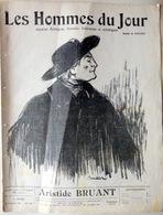 CARICATURES PORTRAITS POLITIQUE LITTERATURE SPECTACLE ARISTIDE BRUANT   1911 - Journaux - Quotidiens