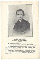 Cpa L'Abbé Léon Blanc, Fondateur De La Croix D'Or ( MORNAY SUR ALLIER, Mensuel Des Catholiques ) ( RE ) - Autres Communes