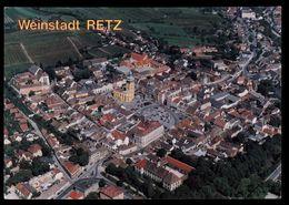 [034] Retz, Luftbild ~1995, Bez. Hollabrunn, Rennhofer - Korneuburg - Hollabrunn