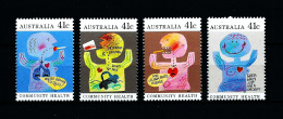 Australia  Nº Yvert  1151/4  En Nuevo - 1990-99 Elizabeth II