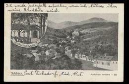 [034] Schleinz, Schleinzer Kreuz, Walpersbach, 1931, Bez. Wr. Neustadt-Land,  Prokopp - Wiener Neustadt