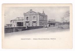 Belle CPA Sierra Leone, Freetown, Water-Street-Railway Station (gare) - Sierra Leone