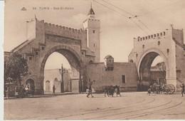 CPA -  TUNIS - BAB EL KADRA - 64 - C. A. P. - Túnez