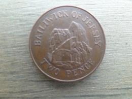 Jersey  2  Pence  1998  Km 104 - Jersey