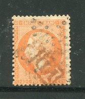 Y&T N°23- Oblitération PD En Rouge - 1862 Napoleone III