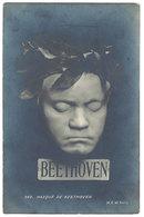 Cpa Beethoven, Masque De B. - Beroemde Personen