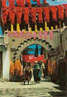 CPM Maroc, Marrakech, Le Souk Des Teinturiers - Marrakech