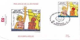 2841  BD P1324 FDC   Rare Corentin Paul Cuvelier 2-10-1999 1020 Bruxelles €10 - FDC