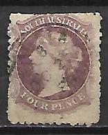 SOUTH  AUSTRALIA   -   1867.  Y&T N° 16 Oblitéré - 1855-1912 South Australia