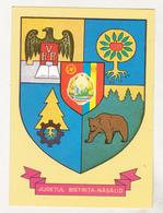 Romania Old Uncirculated Postcard  - Coat Of Arms - Bistrita Nasaud Region - Postkaarten