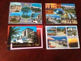 Cartolina Porto S. Elpidio Vedutine  Lotto Di 4 Cartoline VG - Ascoli Piceno