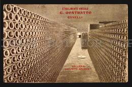 Spumanti Champagne ASTI CANELLI STABILIMENTO VINICOLO CONTRATTO VINO W4-4214 - Asti