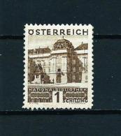 Austria  Nº Yvert  388  En Nuevo - Ungebraucht