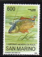 SAN MARINO 1985 - FAUNA - PESCI - TINCA  - MNH ** - San Marino