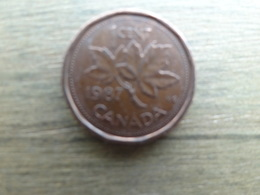 Canada  1  Cent  1987  Km 132 - Canada