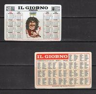 IL GIORNO Del Lunedì - Milan - R. Gullit - - Calendari
