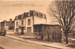 """¤¤  -  COUTANCES   -  Hôtel De L'Ouest , Propriétaire """" H. Loquin """"    -   ¤¤ - Coutances"""