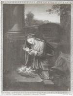 GENOVA - PALAZZO BIANCO - LA VERGINE IN ADORAZIONE - CORREGGI(edizioni BROGI) I.R. N° 11562  - Papier épais Format 20x25 - Places