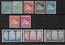 ALGERIE - YT N° 78/85 **/* SANS CHARNIERE OU CHARNIERE TRES LEGERE - COTE = 130 EUR. (+30%) - Algeria (1924-1962)