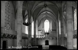 [034] Wiener Neustadt Georgskirche, ~1950, Verlag Egelsseer - Wiener Neustadt