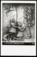 [034] Wiener Neustadt Georgskirche, Relief, ~1950, Verlag Egelsseer - Wiener Neustadt