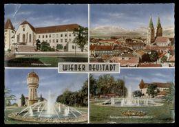 [034] Wiener Neustadt Mehrbild, 1964, Kellner, Mängel - Wiener Neustadt