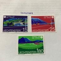 Liechtenstein World Football Games Spain 1982 Mnh - Liechtenstein