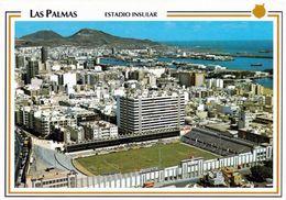1 AK Gran Canaria * Blick Auf Die Hauptstadt Las Palmas De Gran Canaria Und Das Das Alte Stadion Estadio Insular * - Gran Canaria