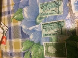 Usa Stati Uniti Posta Aerea Verde - Stamps