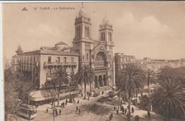 CPA -  TUNIS - LA CATHÉDRALE -13 - C. A. P. - Túnez