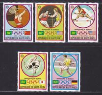 HAUTE-VOLTA AERIENS N°  115 à 119 ** MNH Neufs Sans Charnière, TB (D6683) Sports, Jeux Olympiques De Munich - Opper-Volta (1958-1984)