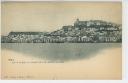 ESPAGNE - IBIZA - Vista Desde La Carretera De Santa Eulalia - Ibiza