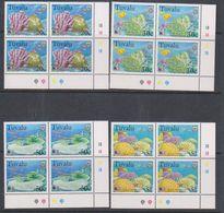 Tuvalu 1998 Greenpeace / Corals 4v Bl Of 4 (corners)* Mnh (38270) Promotion - Tuvalu