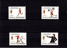 Olympics 1984 - Soccer - ALBANIA - Set MNH - Summer 1984: Los Angeles