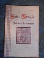 LORRAINE, 1938, SAINT ARNOULD PATRON DES BRASSEURS, EVEQUE DE METZ, BRASSERIES, CHAMPIGNEULLES - Lorraine - Vosges