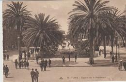 CPA -  TUNIS - SQUARE DE  LA RÉSIDENCE - 19 - C. A. P. - Túnez