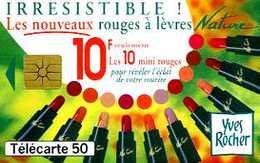 Télécarte 50 : Yves Rocher Irrésistible - Publicité